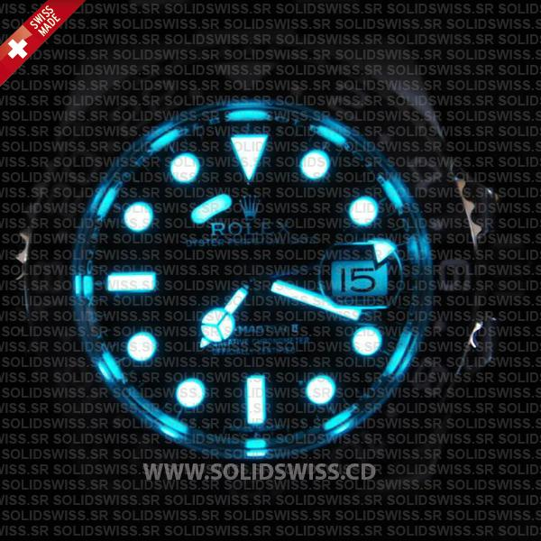 Rolex GMT-Master II Blue Superluminova Lume