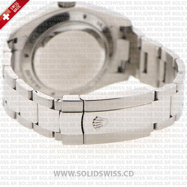 Rolex Milgauss Blue Dial Stainless Steel Oyster Bracelet Watch