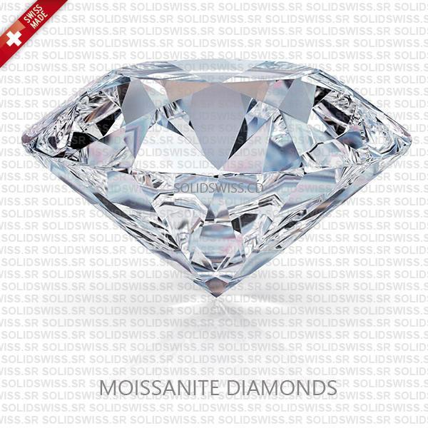 Real Moissanite Diamond Swiss Replica Rolex Datejust 31mm Ladies