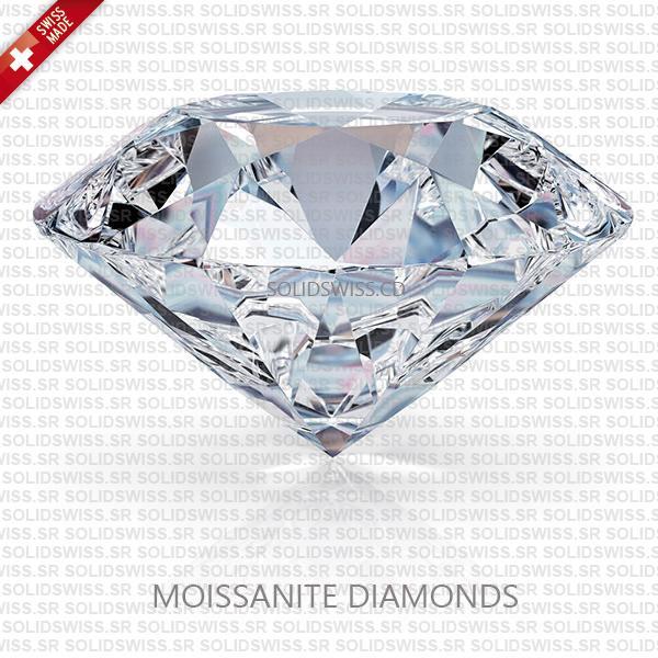 Rolex Day-Date II White Gold Silver Diamond Dial