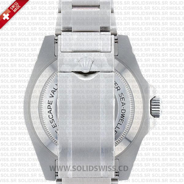 Rolex Sea-Dweller 4000 Black Dial Stainless Steel Oyster Bracelet