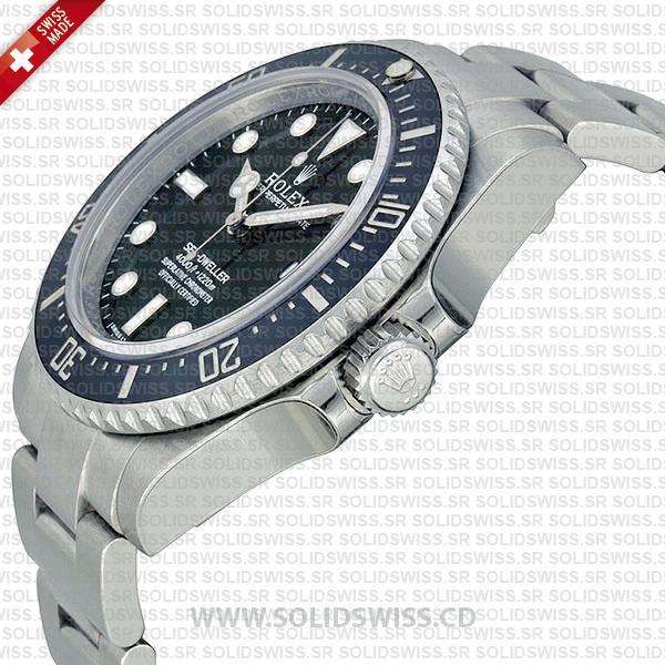 Rolex Sea-Dweller 4000 Black Dial Swiss Replica Watch