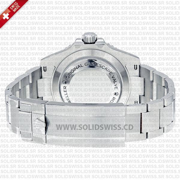 Rolex Sea-Dweller 4000 Black Dial Stainless Steel Oyster Bracelet Replica