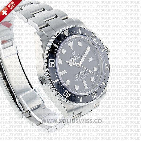 Rolex Sea-Dweller 4000 Black Dial Watch