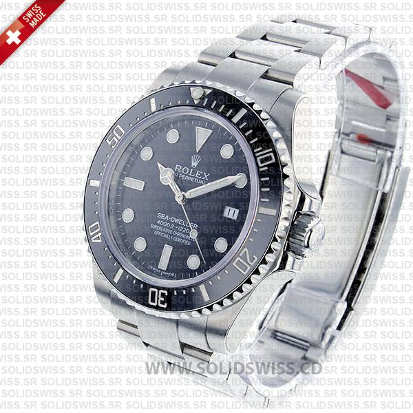 Rolex Sea-Dweller 4000 Black Dial Replica Watch
