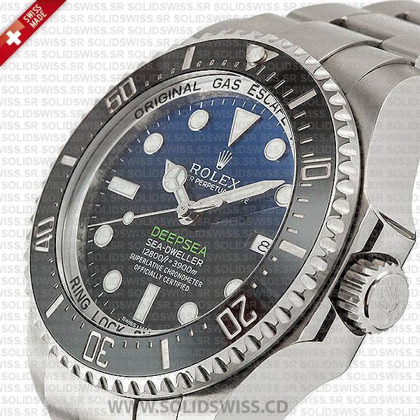 Rolex Sea-Dweller Oyster Perpetual 904L steel 44mm Replica Watch