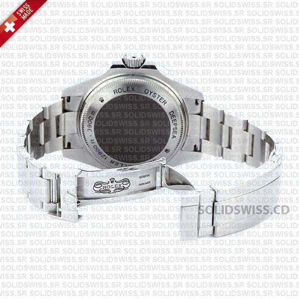Rolex Sea-Dweller Deepsea Stainless Steel Ceramic Bezel 44mm Watch Replica