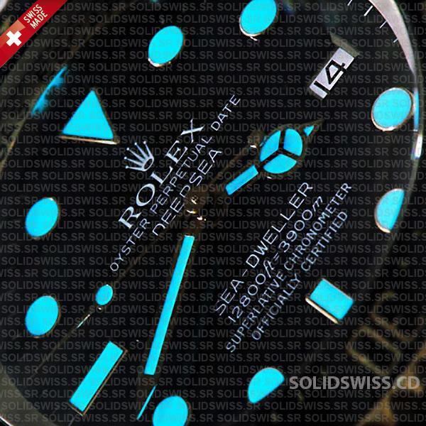 Rolex Deepsea 44mm Swiss Replica Watch