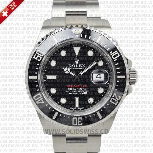 Rolex Sea-Dweller Oyster Perpetual 43mm Stainless Steel Date Watch