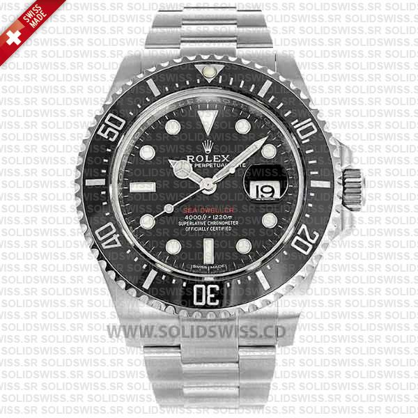 Rolex Sea-Dweller Oyster Perpetual Date 43mm anti-reflective coating