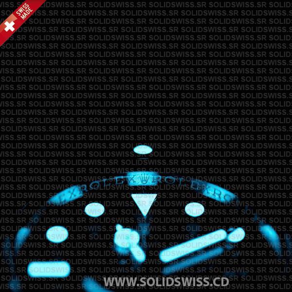 Rolex Submariner DLC Black Ceramic Bezel Swiss Replica