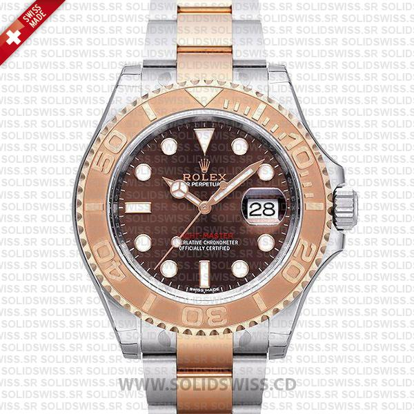 Rolex Yacht-Master Two-Tone Chocolate Dial | Solidswiss Watch