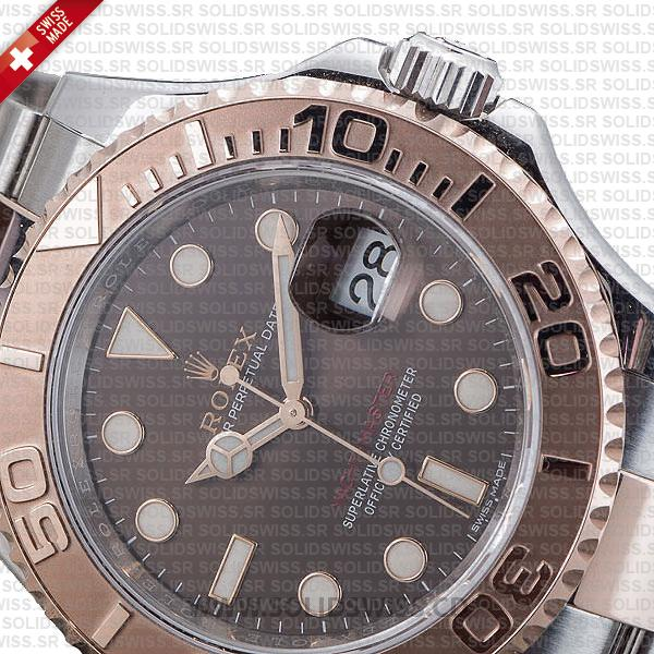 Rolex Yacht-Master Two-Tone Chocolate Dial 40mm