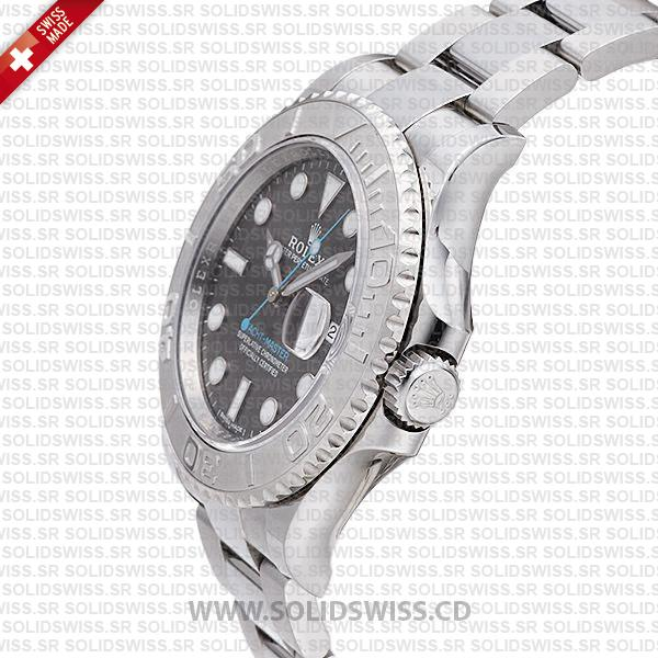 Rolex Yacht-Master 2016 Platinum Rhodium Dial 40mm Replica Watch