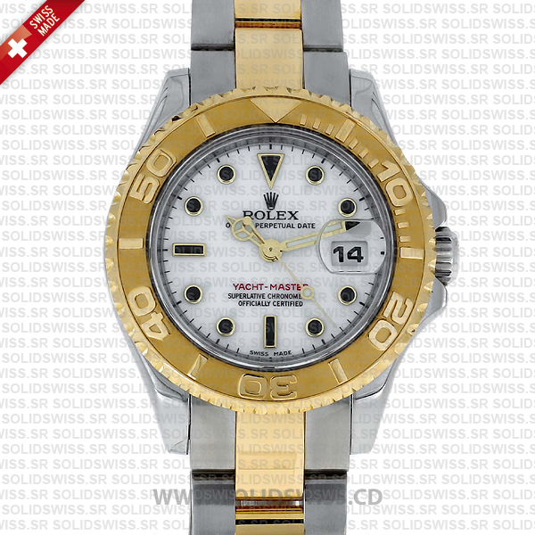 Rolex Yacht-Master Two-Tone 18k Yellow Gold 29mm