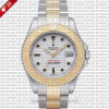 Rolex Yacht-Master Two-Tone Yellow Gold 35mm Replica Watch