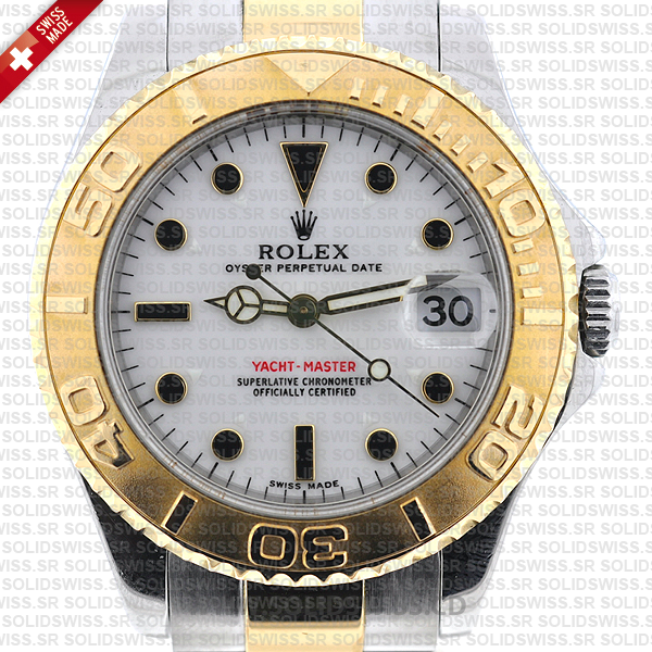 Rolex Yacht-Master Two-Tone Yellow Gold 35mm