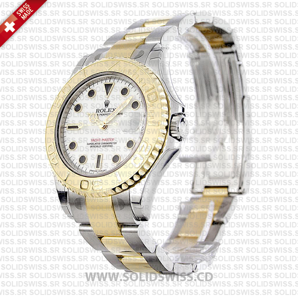 Rolex Yacht-Master Two-Tone Yellow Gold