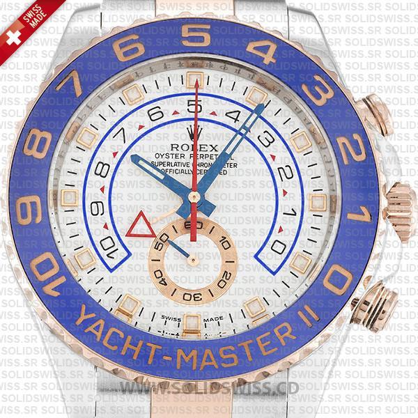 Rolex Yacht-Master II 2-tone White 44mm