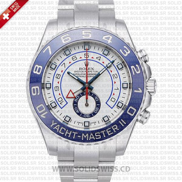 Rolex Yacht-Master II Stainless Steel 44mm | Swiss Replica