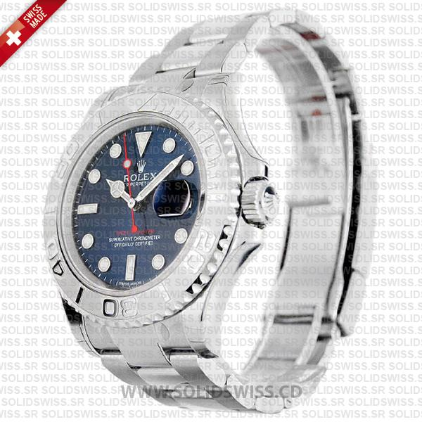 Rolex Yacht-Master Stainless Steel Blue Dial
