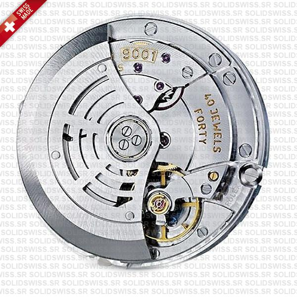 Rolex 9001 Clone Swiss Movement
