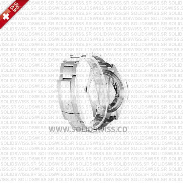 Rolex Sky-Dweller 18k White Gold Blue Dial Oyster Bracelet Watch