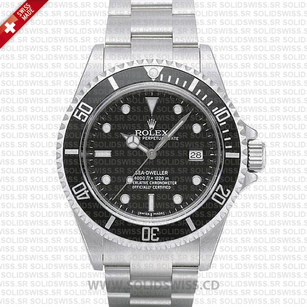Rolex Sea-Dweller 40mm Date Black Dial | Swiss Made Replica