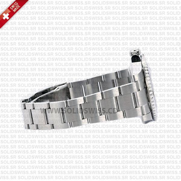 Rolex Submariner Blaken D-Blue Dial Black Ceramic Bezel Steel Swiss Replica Watch