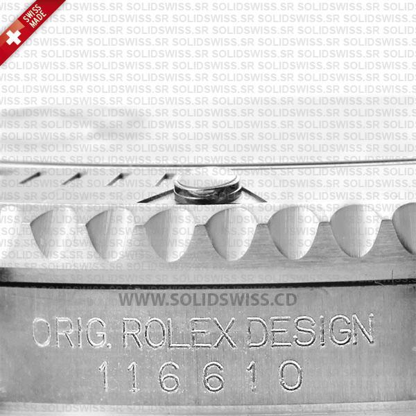 Rolex Sumbariner Steel Black Ceramic Swiss Replica