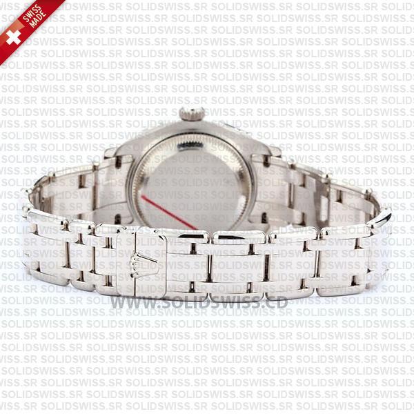Rolex Datejust Pearlmaster 29mm Diamond Dial White Diamond Dial