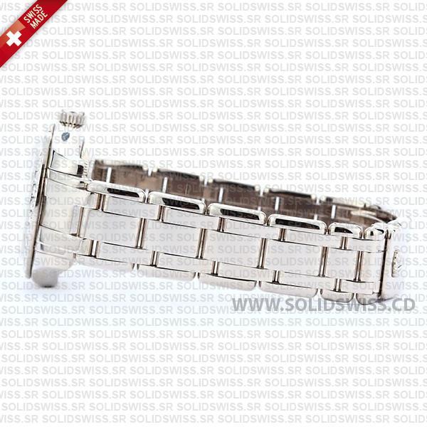 Rolex Datejust Pearlmaster 29mm Diamond Dial White Diamond Dial 904L Steel Bracelet