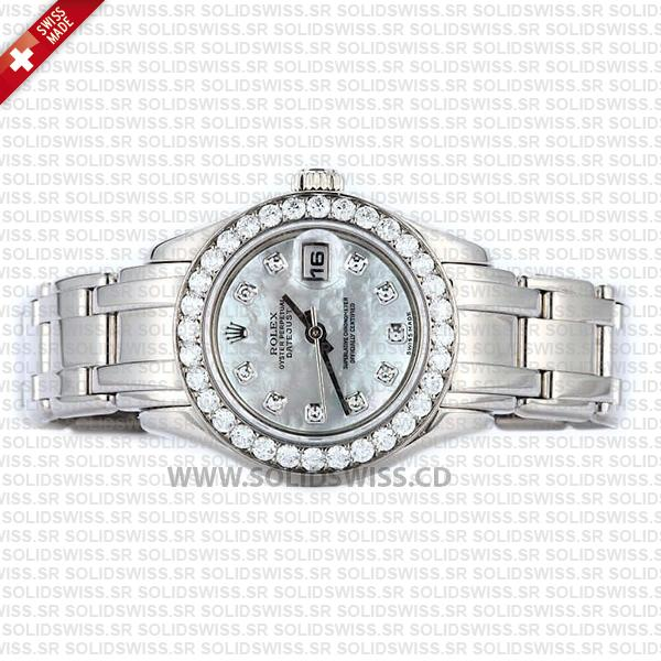 Rolex Lady Datejust Pearlmaster White Gold 29mm