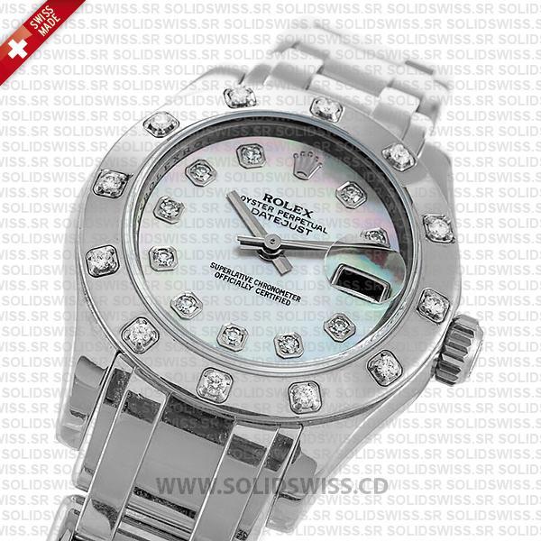 Rolex Datejust Pearlmaster 29mm Diamond Dial Replica