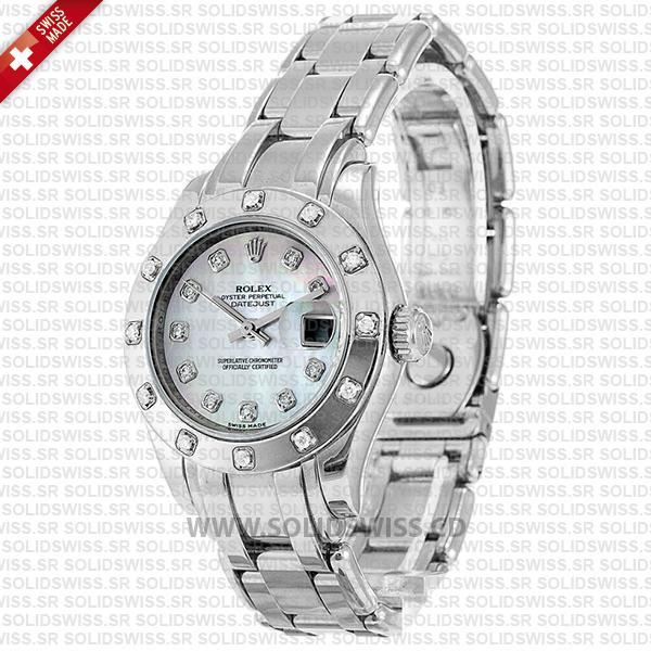 Rolex Datejust Pearlmaster 29mm Diamond Dial