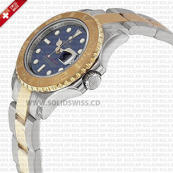 Rolex Yacht-Master Yellow Gold Blue Dial Two-Tone