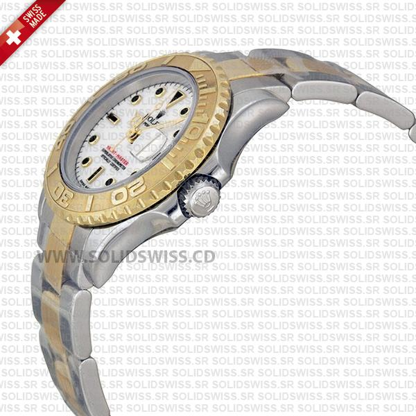 Rolex Yacht-Master Two-Tone 18k Yellow Gold