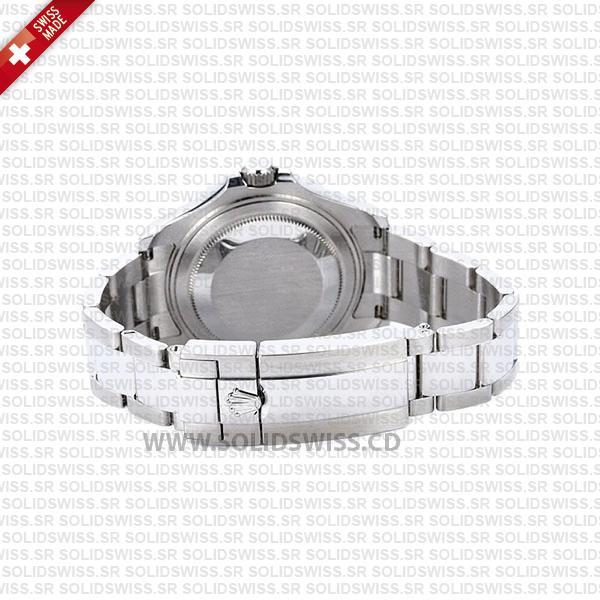 Rolex Yacht-Master Platinum Bezel Rhodium Dial 37mm Swiss Replica Watch