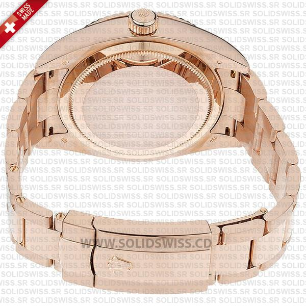 Rolex Sky-Dweller Rose Gold Chocolate Dial 42mm