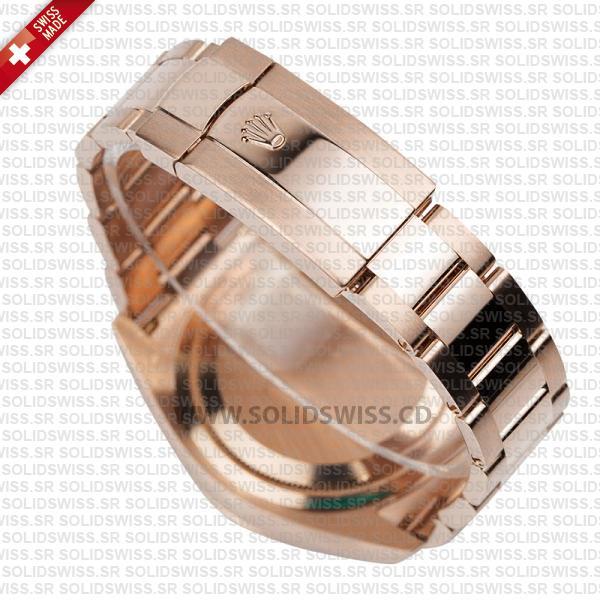Rolex Sky-Dweller 18K Rose Gold Chocolate Dial 42m