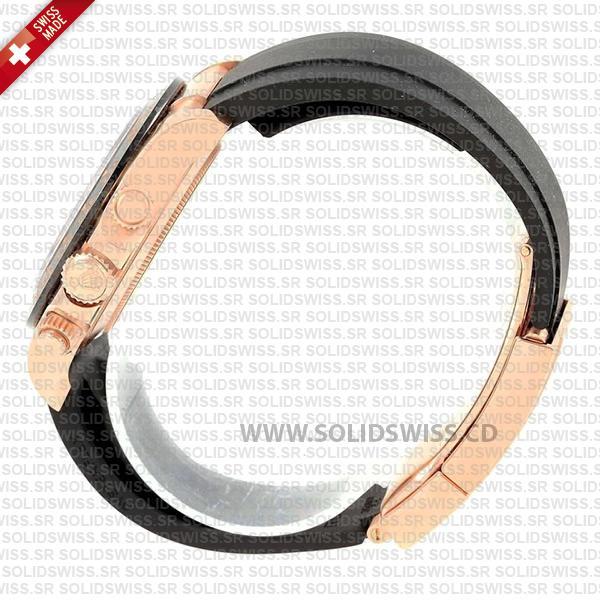 Rolex Cosmograph Daytona Oysterflex Rubber Band Bracelet