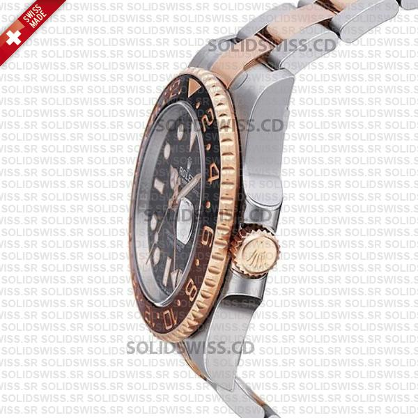 Rolex GMT-Master II Two Tone Rose Gold Watch