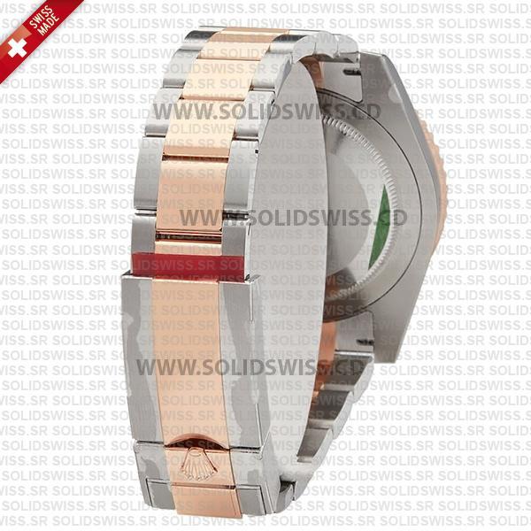 Rolex GMT-Master II 18k Rose Gold Oyster Ceramic Bezel 40mm