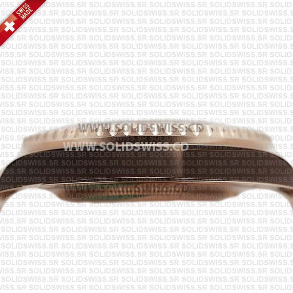Rolex GMT-Master II 18k Rose Gold Black Dial 40mm Watch