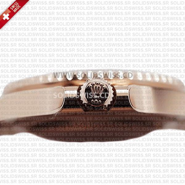 Rolex GMT-Master II 18k Rose Gold Black Dial 40mm