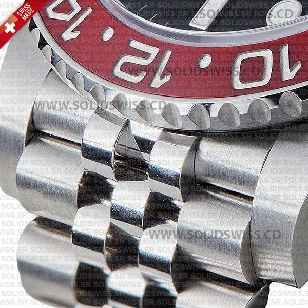 Rolex GMT-Master II Pepsi Steel Jubilee Bracelet Replica Watch