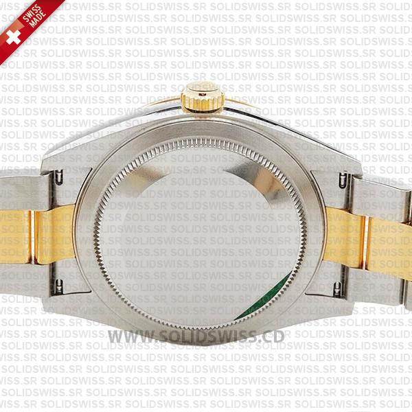 Sky-Dweller Two-Tone 18k Yellow Gold Stainless Steel Gold Dial 42mm