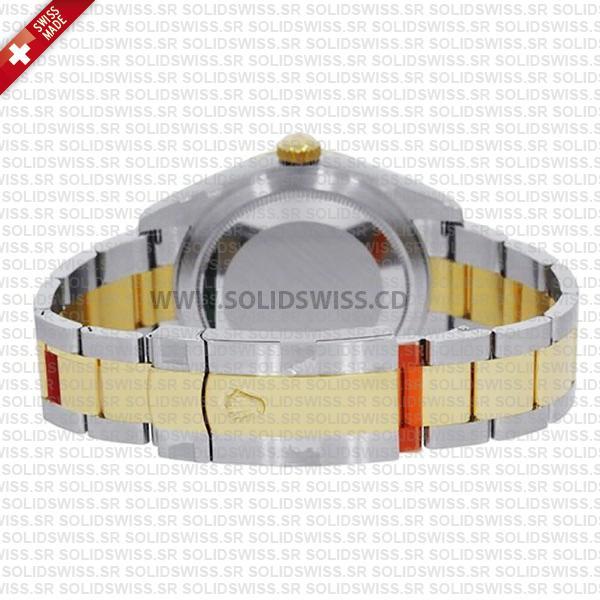 Rolex Sky-Dweller 2-Tone 18K Yellow Gold 42mm Swiss Replica