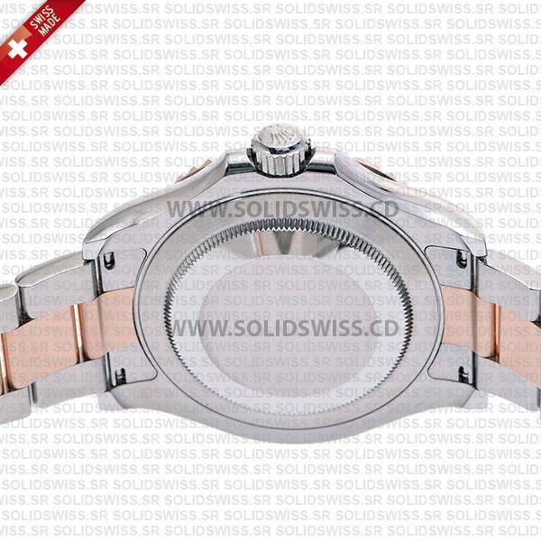 Rolex Yacht-Master Two-Tone 18k Rose Gold Oyster Bracelet 40mm