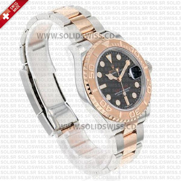 Rolex Yacht-Master Two-Tone 18k Rose Gold